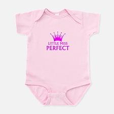 Little Miss Perfect Infant Body Suit