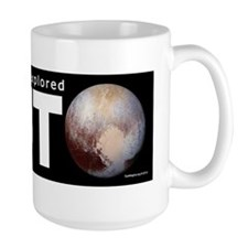 My Other Vehicle Explored Pluto Mug