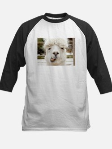 Funny Alpaca Smile Baseball Jersey