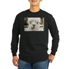 Funny Alpaca Smile Long Sleeve T-Shirt