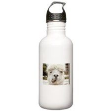 Funny Alpaca Smile Water Bottle