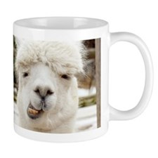 Funny Alpaca Smile Mugs