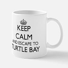 Keep calm and escape to Turtle Bay Hawa Mug