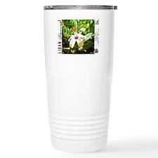 Exotic Flower Travel Mug