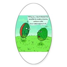 Two Watermelons Decal