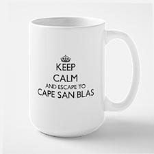 Keep calm and escape to Cape San Blas Florida Mugs
