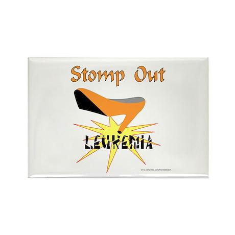 LEUKEMIA AWARENESS Rectangle Magnet (100 pack)