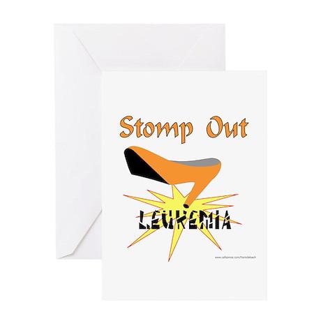 LEUKEMIA AWARENESS Greeting Card