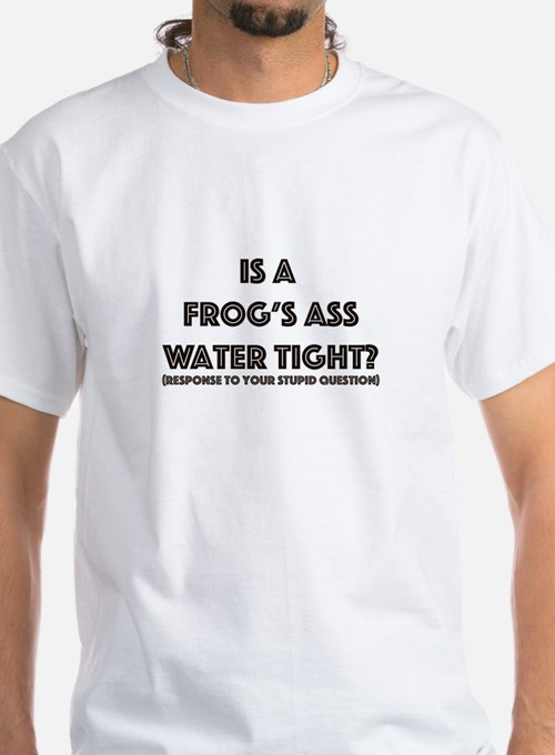 Is A Frogs Ass Water Tight 85