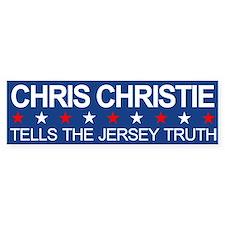 Chris Christie Jersey Truth Bumper Bumper Bumper Sticker