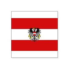 """Austria pride Square Sticker 3"""" x 3"""""""