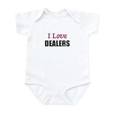 I Love DEALERS Infant Bodysuit