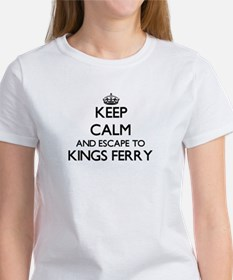 Keep calm and escape to Kings Ferry Georgi T-Shirt