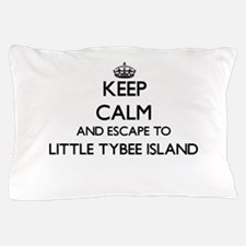 Keep calm and escape to Little Tybee I Pillow Case