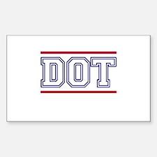 DOT Decal