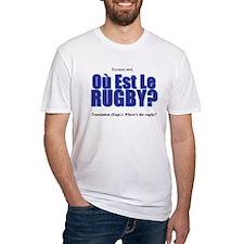 Où Est Le Rugby? World Cup 2007 Shirt