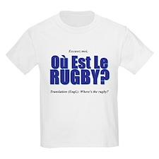Où Est Le Rugby? World Cup 2007 T-Shirt
