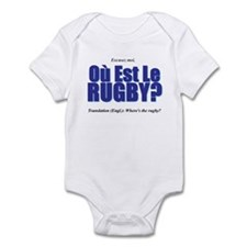 Où Est Le Rugby? World Cup 2007 Onesie