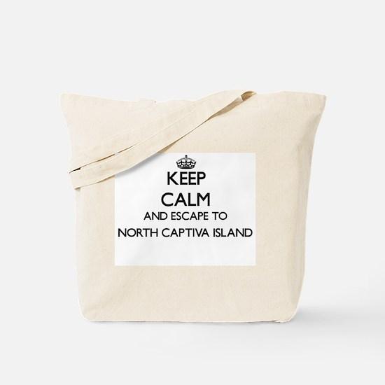 Keep calm and escape to North Captiva Isl Tote Bag