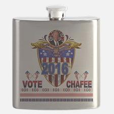 Lincoln Chafee Flask