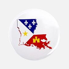 Acadiana State of Louisiana Button