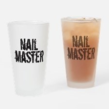 NailMaster Drinking Glass