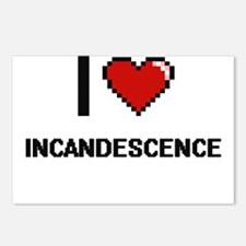 I Love Incandescence Postcards (Package of 8)