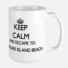 Keep calm and escape to Treasure Island Beach Mugs