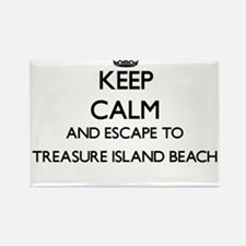 Keep calm and escape to Treasure Island Be Magnets