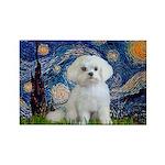 Starry Night / Maltese Rectangle Magnet (10 pack)