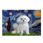 Starry Night / Maltese Postcards (Package of 8)