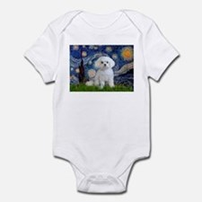 Starry Night / Maltese Infant Bodysuit