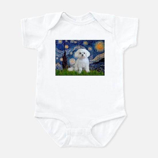 Starry Night / Maltese Infant Bodysuit