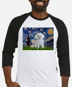 Starry Night / Maltese Baseball Jersey