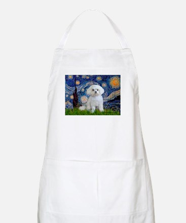 Starry Night / Maltese Apron