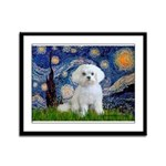 Starry Night / Maltese Framed Panel Print