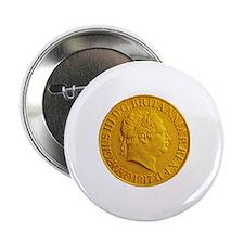 """Gold Coin 2.25"""" Button"""