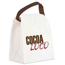 Cocoa Loco Chocolate Lover Canvas Lunch Bag