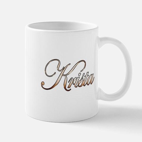 Gold Krista Mug