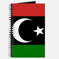 Square Libyan Flag Journal