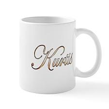 Gold Kurtis Small Mug