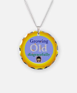 Growing Old Necklace