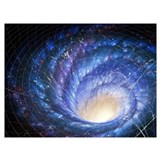 Black hole Framed Prints