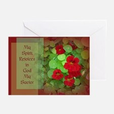 Clothed with His Image Alone Greeting Cards (Pk of
