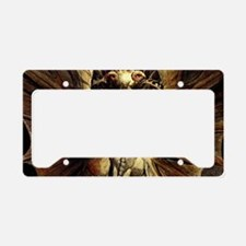 Great Red Dragon License Plate Holder