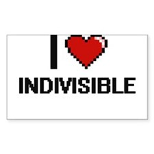 I Love Indivisible Decal