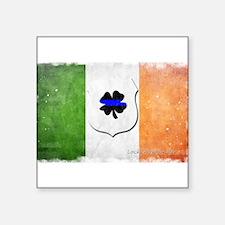 """Unique Irish flag Square Sticker 3"""" x 3"""""""