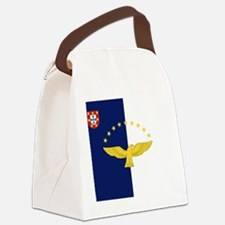 Flag of Azores Canvas Lunch Bag