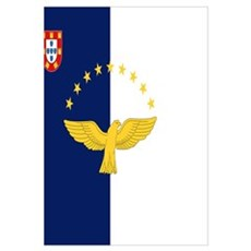 Flag of Azores Framed Print