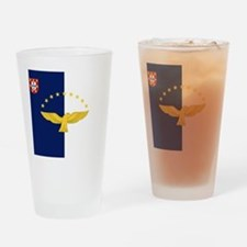 Flag of Azores Drinking Glass